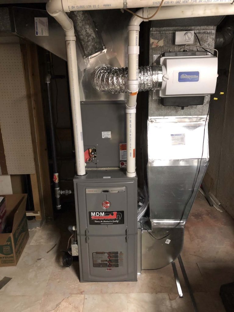 furnace replacement service in GTA